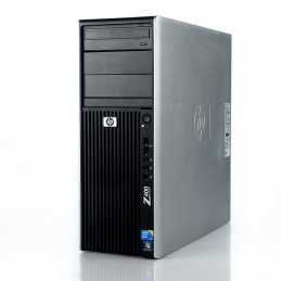 HP Workstation Z400 Xeon W3505 - 12Go RAM - 240Go+1To - FX1800